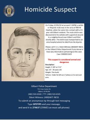 Gilbert Homicide Suspect