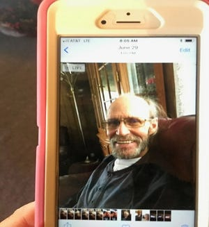 A cellphone photo of Daniel Lucha, 67, who was recently reported missing. The Sparks Police Department released the photo on July 6, 2019.