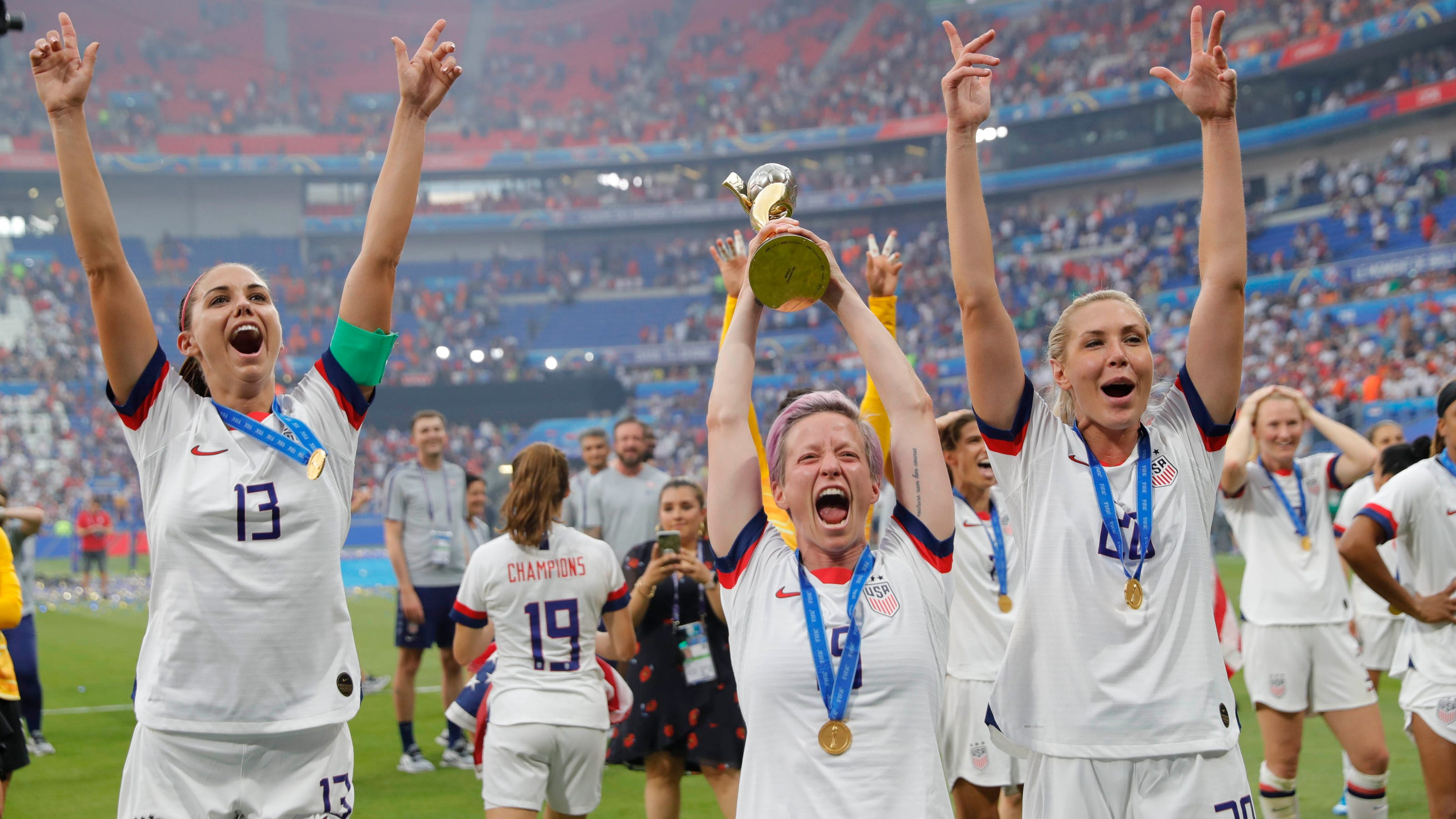 Literatura Descanso servidor  World Cup 2019: Nike celebrates USWNT win with powerful new ad