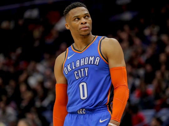 Russell Westbrook could be on his way out of Oklahoma City.