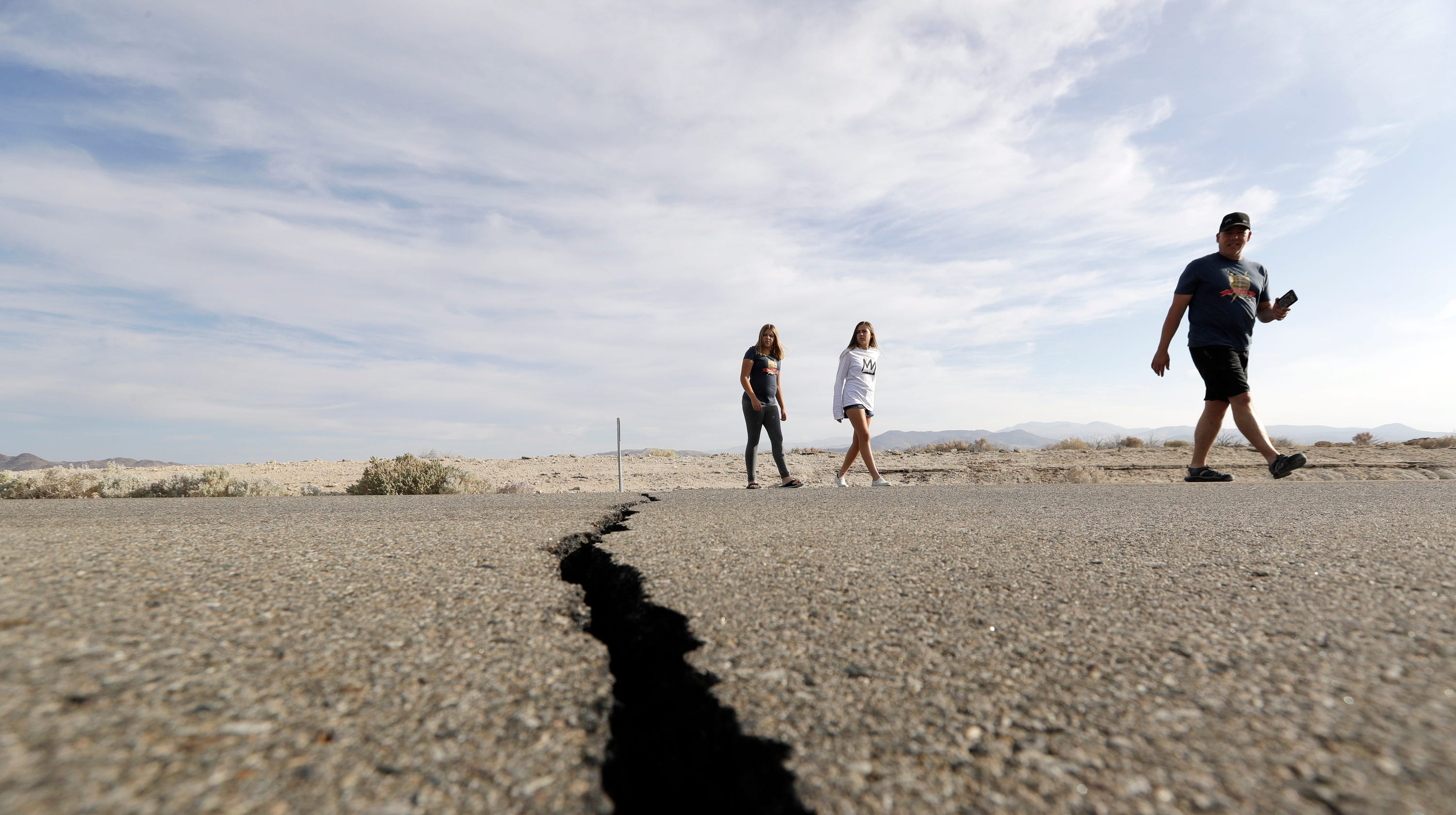 Is 'The Big One' next? California was shaking again Tuesday, with six earthquakes of 3.5 or greater