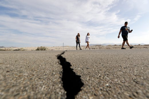 California earthquakes: USGS quells fear of 'The Big One'
