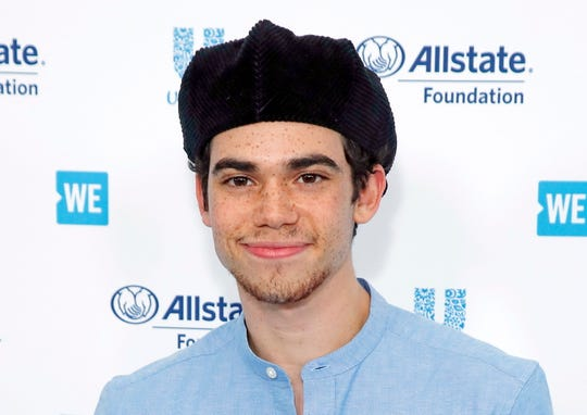 Cameron Boyce arrives for WE Day California at the Forum in Inglewood, CA on April 25.