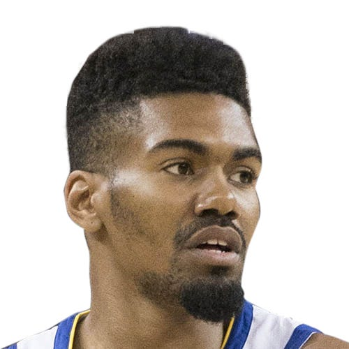Golden State Warriors guard Jacob Evans