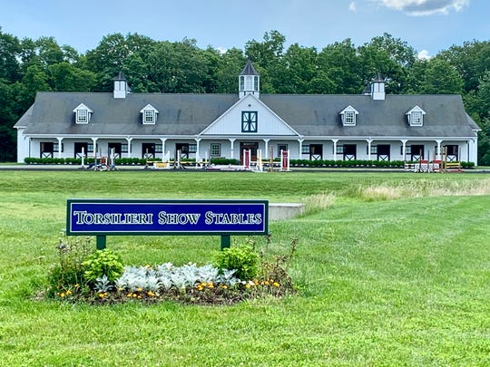 Torsilieri Show Stables in the Pittstown section of Alexandria Township.