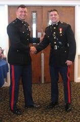 Captain Gregory Davis (left) and Second Lieutenant Matthew Francis (right).