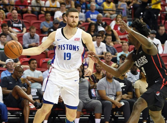 Sviatoslav Mykhailiuk during a summer league game July 6.