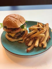 While the menu is largely barbecue-centric, Miles on the Water still offers a classic bar burger and fries.