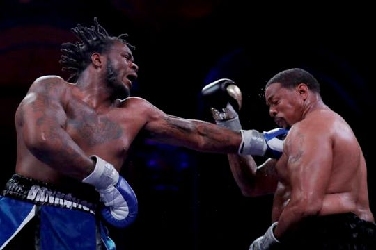 Jermaine Franklin got his start in boxing at age 13 at the suggestion of his stepfather, Darwin Lamar, after one too many fights in middle school.