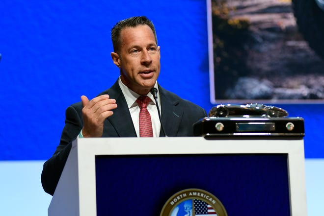 Reid Bigland, head of the Ram brand and U.S. sales for Fiat Chrysler Automobiles NV, filed a whistleblower lawsuit against the automaker.