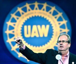 UAW President Gary Jones