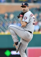 Justin Verlander will start the All-Star Game for the American League for the second time in his career. His first came with the Tigers in 2012.