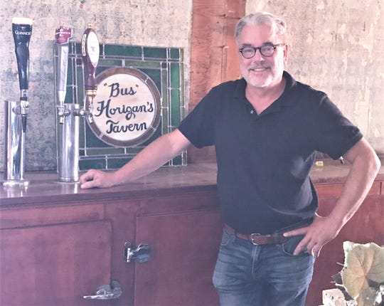 Elmira native Charlie Hunter is the new owner of Horigan's Tavern at the corner of Second and Davis streets.