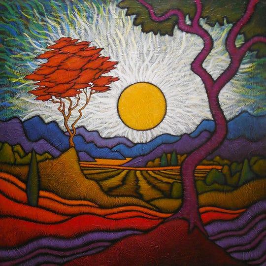 """The West End Gallery will host a free opening reception of painter GC Myers'""""Moments and Color"""" exhibitfrom Friday evening."""
