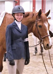 Sarah Wilkie, a member of Foxmoor Equestrian Team, finished seventh out of the country in her division at a recent national horse riding championship.