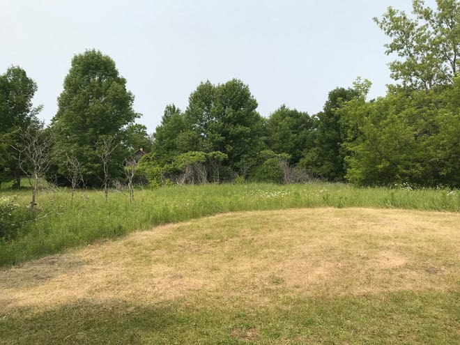 The grounds for Write On's future writing center.