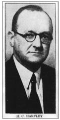 H. C. Harvley, who came to Greenville with the C &WC Railroad, was mayor in 1919. His grandson, Cooper White, served in that office in 1970.