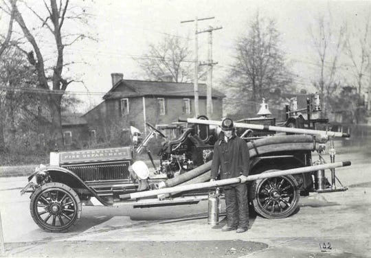 The LaFrance fire truck that City Council finally bought for the Fire Department was the very latest model.