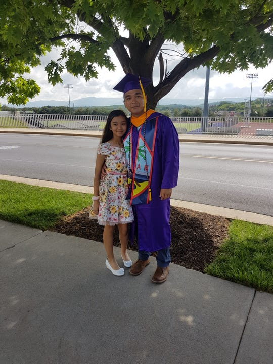 Jonovan Lizama graduated with a bachelor's degree in engineering from James Madison University in Virginia on May 4. He is the son of Jeffrey Aquiningoc and John and Kristy Lizama Gamboa and the grandson of Juan and Tita Quintanilla Aquiningoc, Frank and Lupe Herrera Cruz, Felix Lizama and Thomas and Emily Gamboa. He is shown with his sister, Hanaya Gamboa.