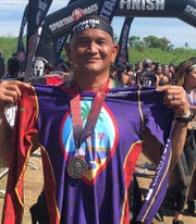 Jeffrey Rios participated in the Spartan Sprint 5-kilometer, 20-obstacle race in the Philippines and finished 19th in his age division and 32nd out of 1026.