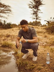 Malcolm Brogdon as part Hoops20, which recruits players from across the NBA to raise funds and awareness for clean water initiatives in East Africa.