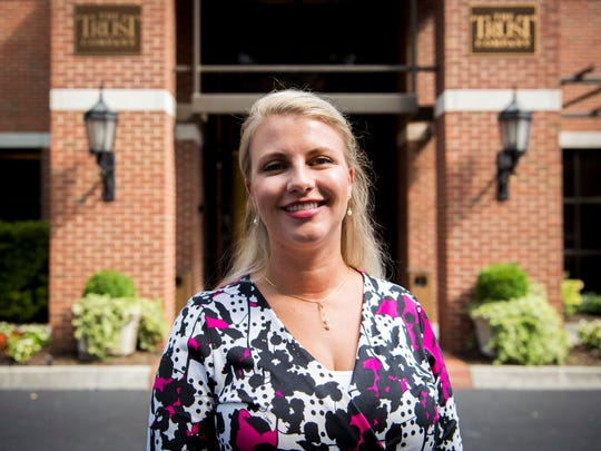 Kristine Davenport, photographed on Monday, July 8, 2019, is a Certified Financial Planner and Certified Divorce Financial Analyst at The Trust Company in Knoxville.