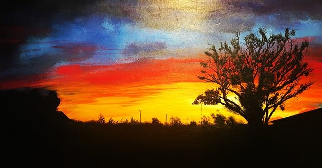 Mick Essex's paintings will be on display at Carpe Diem during 2nd Saturday ArtWalk.