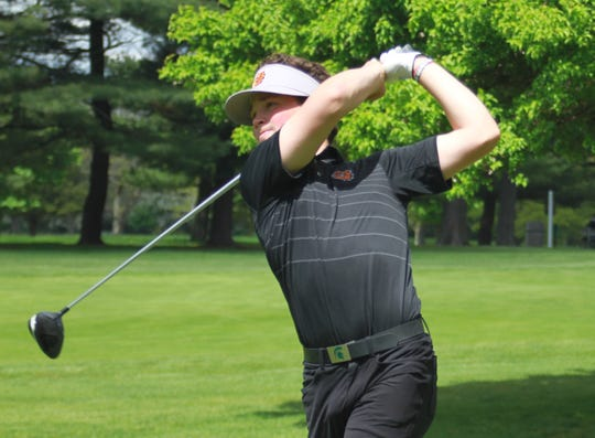 Davis Codd of Brighton tied for sixth in the state Division 1 golf tournament.