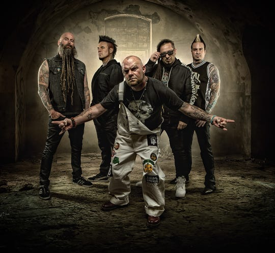 Five Finger Death Punch performs Saturday, Nov. 16, at Hertz Arena in Estero.