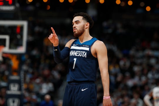 Tyus Jones averaged 6.9 points and 4.8 assists in 68 games for the Timberwolves this past season.