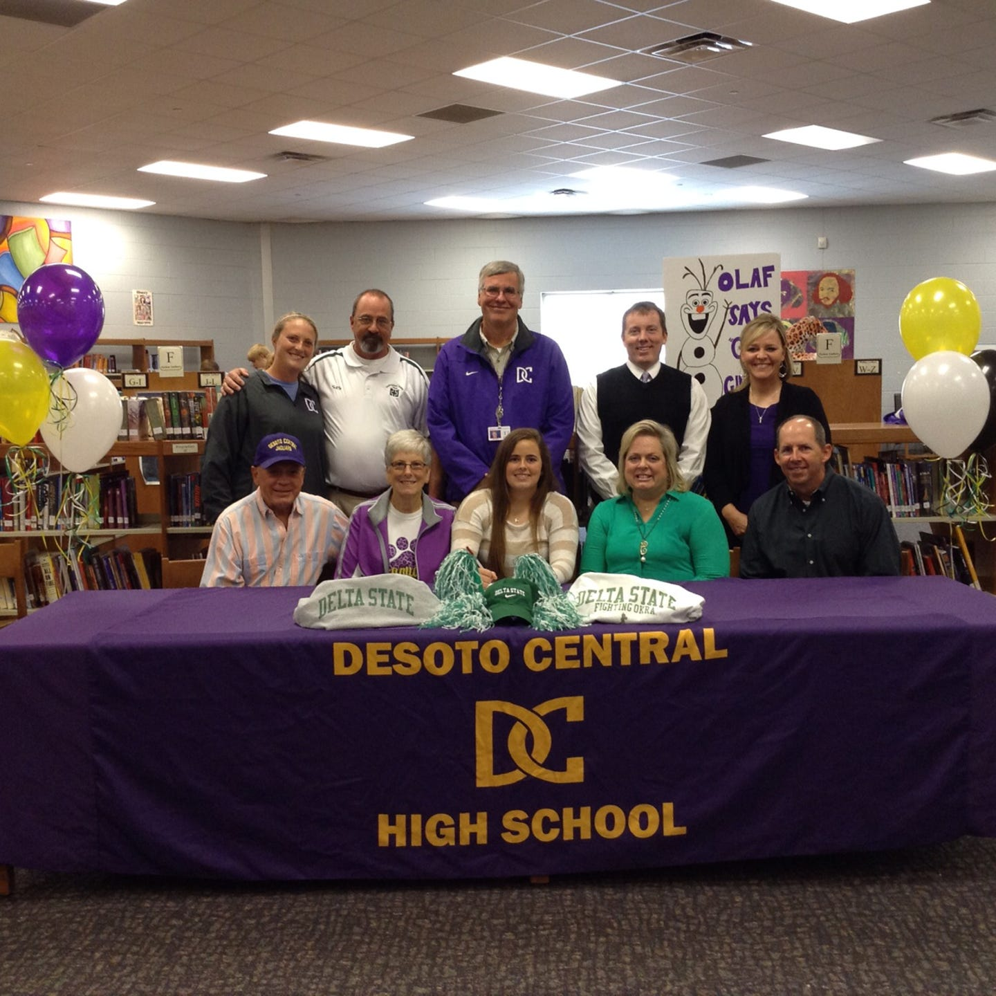 DeSoto Central High School through the years