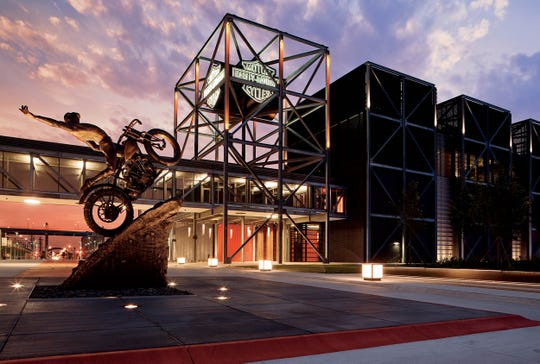 The Harley-Davidson Museum.