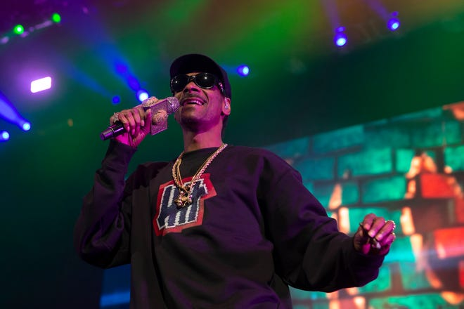 Snoop Dogg performs at the American Family Insurance Amphitheater on July 7, 2019.