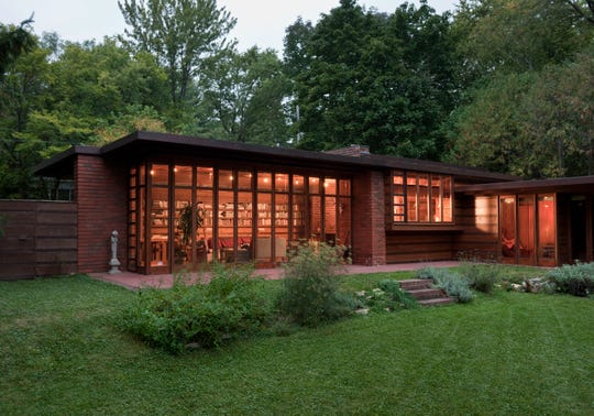 The Herbert and Katherine Jacobs House in Madison is one of a group of Frank Lloyd Wright buildings placed on the UNESCO World Heritage List.
