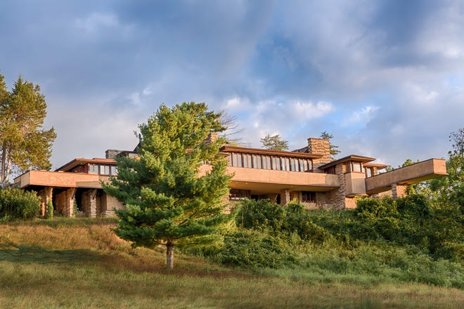 Taliesin, the home and studio of Wisconsin architect Frank Lloyd Wright, was named a UNESCO World Heritage Site in 2019.