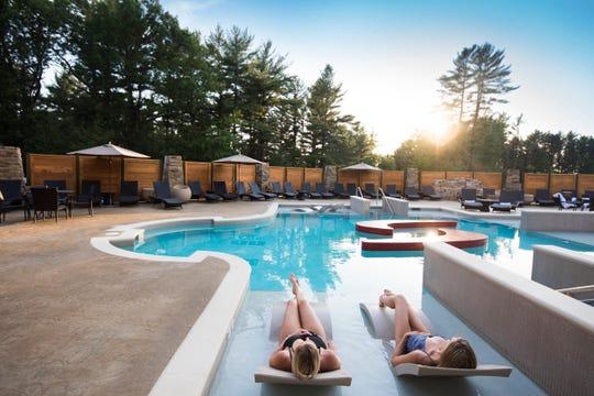The pool at Sundara Inn & Spa.