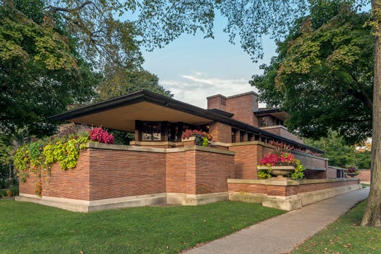 The Robie House in Chicago is one of a group of Frank Lloyd Wright buildings named to the UNESCO World Heritage List.