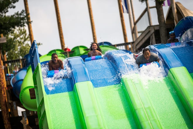 Noah's Ark Waterpark is the largest outdoor waterpark in the country.