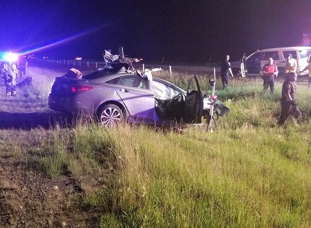 Henry County woman dies after two-vehicle crash on Interstate 70