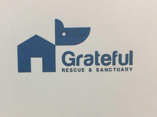 The logo for proposed pet sanctuary Grateful Rescue & Sanctuary.