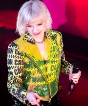 Carly Rae Jepsen performs at Ryman Auditorium in Nashville, Tenn., Sunday, July 7, 2019.
