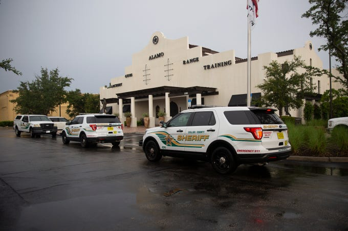 Collier County Sheriff's Office is investigating a  death, Monday, July 8, 2019, at the Alamo Naples Indoor Gun Range at 2390 Vanderbilt Beach Road in North Naples.