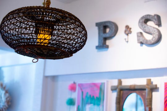 The interior of Piece & Story, a vintage and treasure store, in Scottsdale.