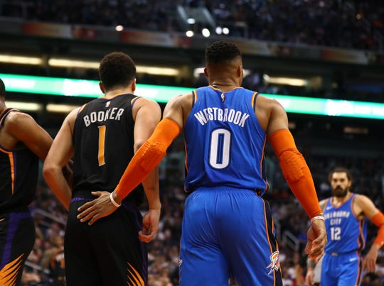 How would Russell Westbrook look in a Phoenix Suns jersey?