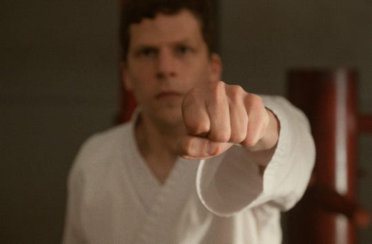 """Casey (Jesse Eisenberg) yearns to feel safe after he is violently attacked in """"The Art of Self-Defense."""""""