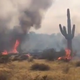 500-acre Smokehouse Fire burns through brush near Wittmann