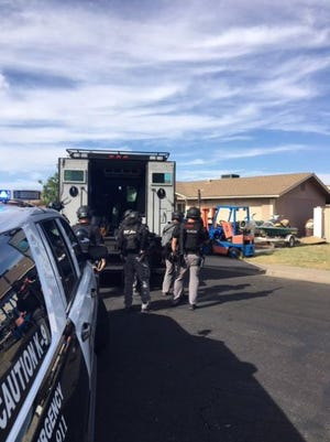 The Mesa SWAT team was called to negotiate with a man who had barricaded himself in his home on July 7, 2019. Multiple people reported hearing gunshots fired from within the home.