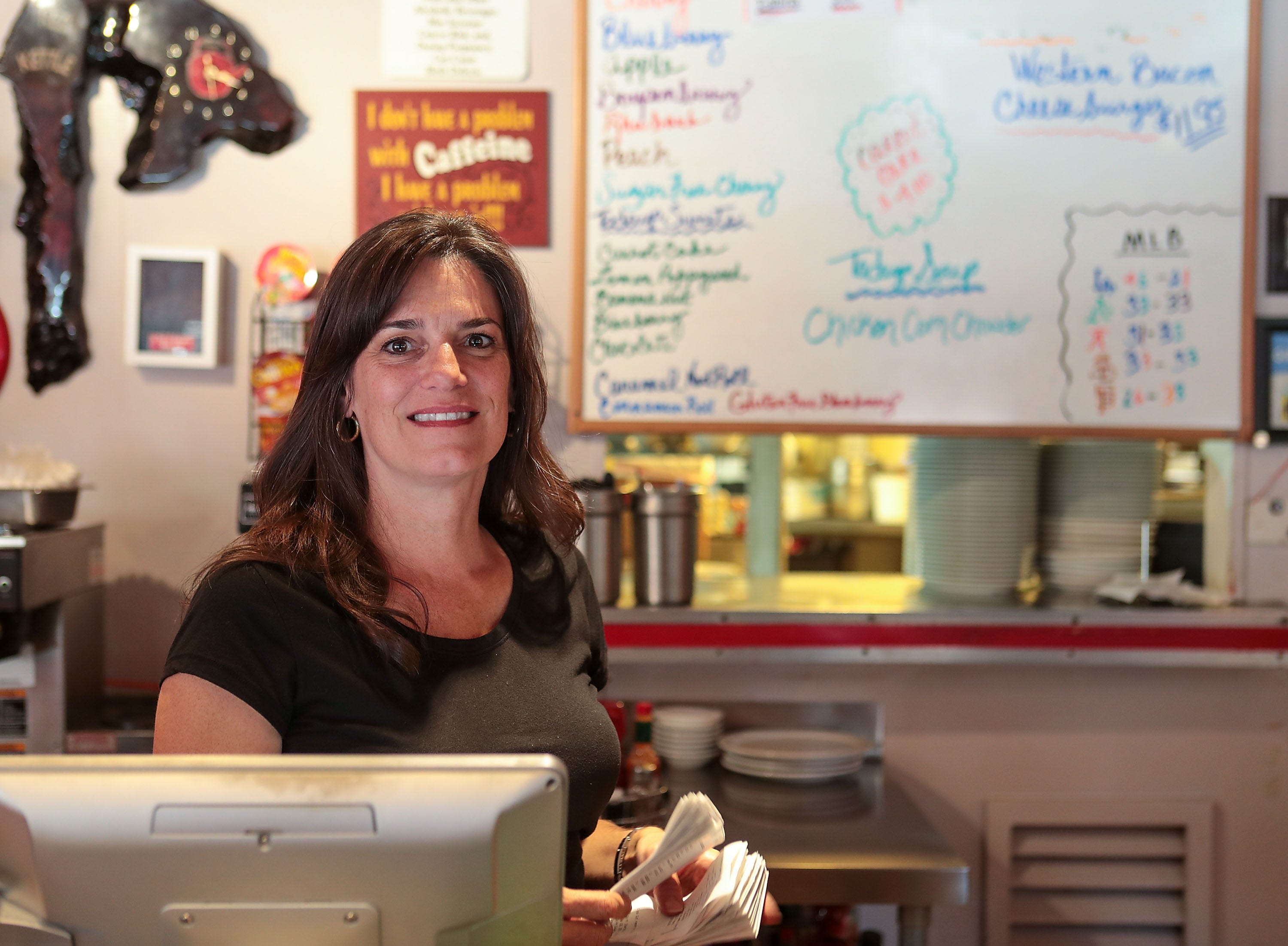 Annie Weaver owns the Red Kettle restaurant in Idyllwild.