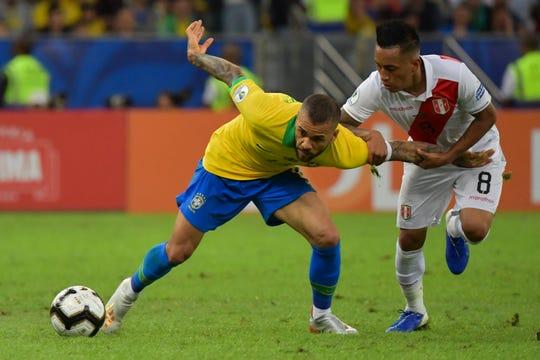 La gran final de Copa América fue un partido muy disputado de principio a fin.