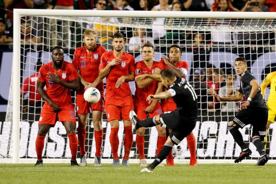The USMNT lost 1-0 to Mexico Sunday evening despite having several chances to score early on.